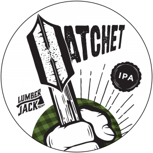 hatchet tap badge