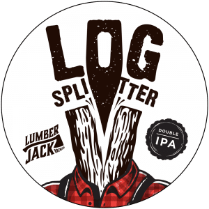log splitter tap badge